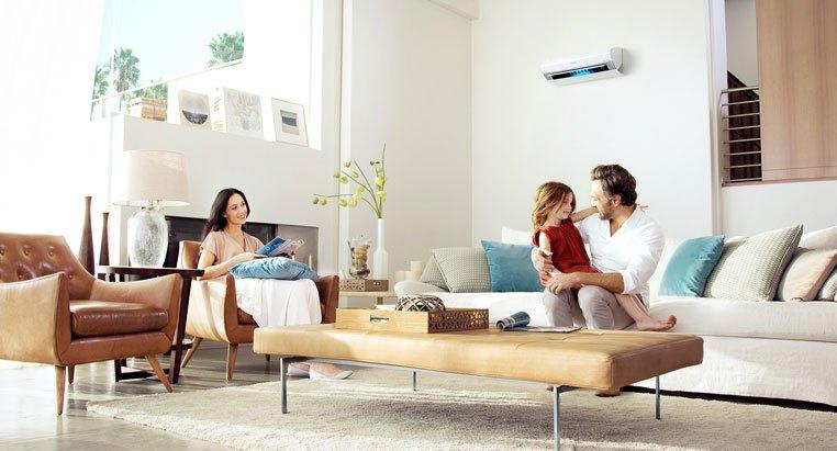 Máy lạnh Inverter mang đến cho bạn không gian sống trong lành
