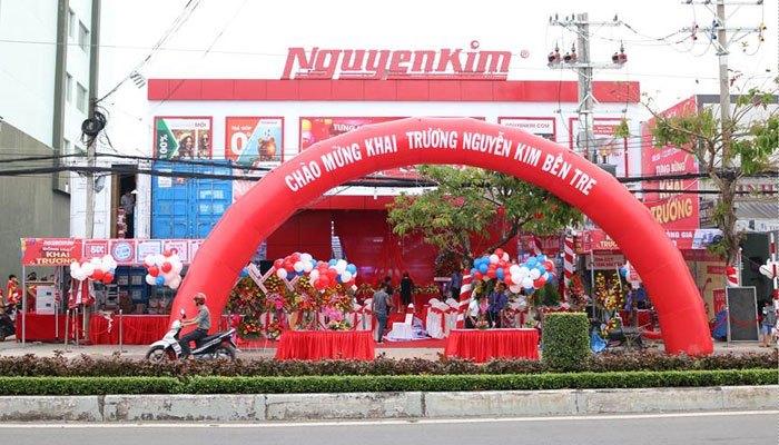 TTMS Nguyễn Kim Bến Tre tưng bừng khai trương