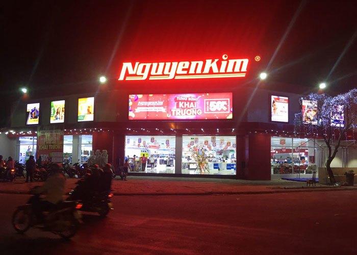 Đêm lên đèn tại Nguyễn Kim Bà Rịa