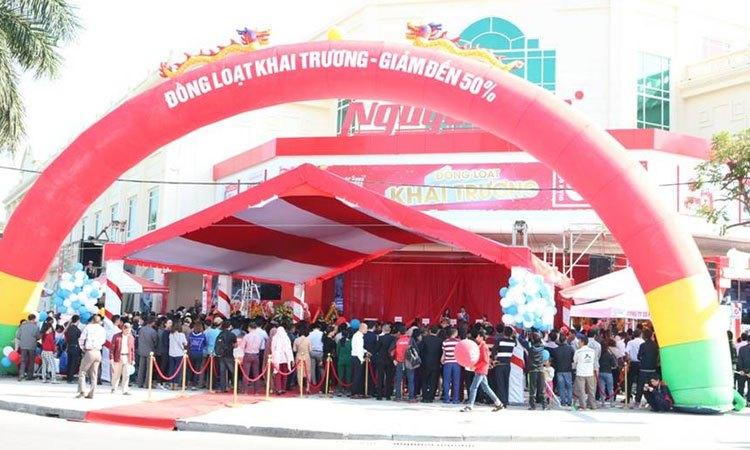Trung tâm mua sắm Nguyễn Kim trước giờ khai trương