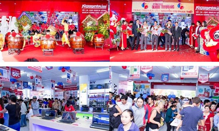 Trung tâm mua sắm Nguyễn Kim Phan Thiết được nhiều khách hàng quan tâm trong đó có cả khách nước ngoài