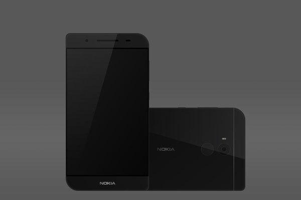 Mặt lưng điện thoại Nokia 7610 mới có dải ăng ten phát sáng được