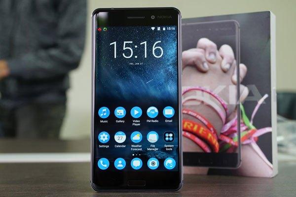 Màn hình điện thoại Nokia 6 hiển thị sắc nét, sống động