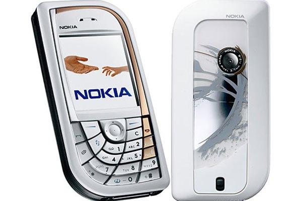 Điện thoại Nokia 7610 sở hữu bàn phím độc đáo