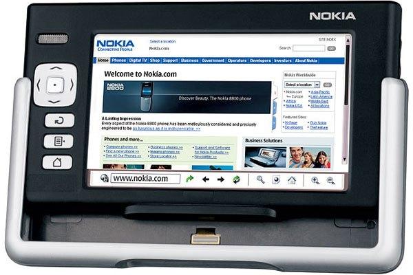Điện thoại Nokia 770 Internet Tablet được hãng đặt kỳ vọng
