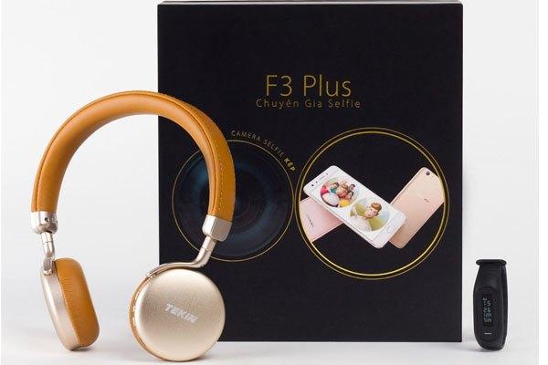 Bộ quà tặng hấp dẫn khi đặt mua trước điện thoại OPPO F3 Plus
