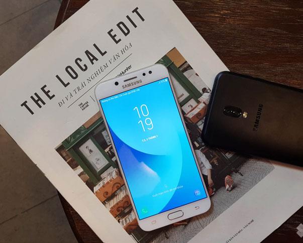 """Galaxy J7+ cấu hình mạnh mẽ """"chấp hết"""" những game nặng"""