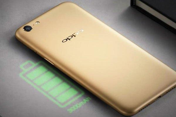 Điện thoại OPPO A71 sở hữu viên pin dung lượng 3000 mAh