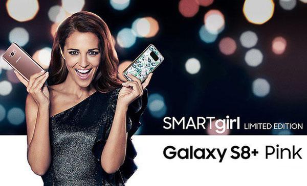 Samsung mang đến thị trường 7000 điện thoại Galaxy S8+ phiên bản đặc biệt dành cho phái nữ