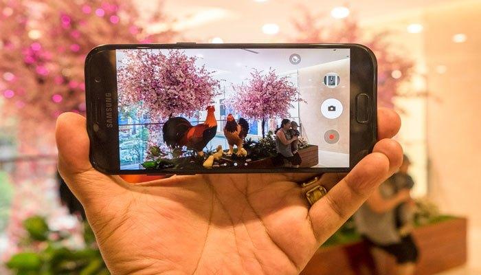 Điện thoại Galaxy A5 2017 chụp hình sắc nét
