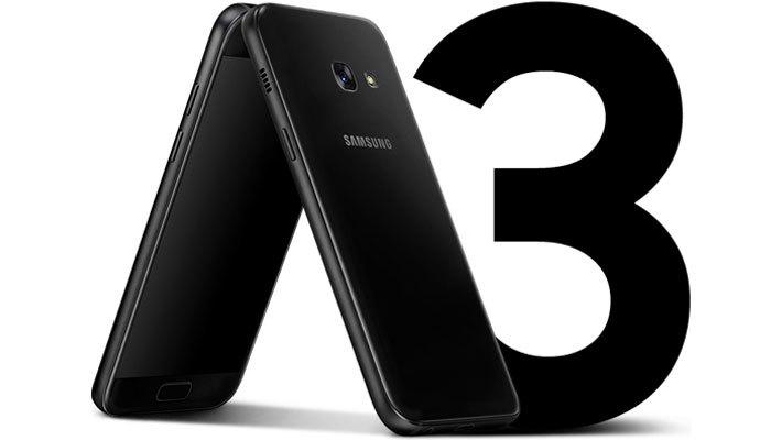 Điện thoại Galaxy A3 2017 sắp ra mắt