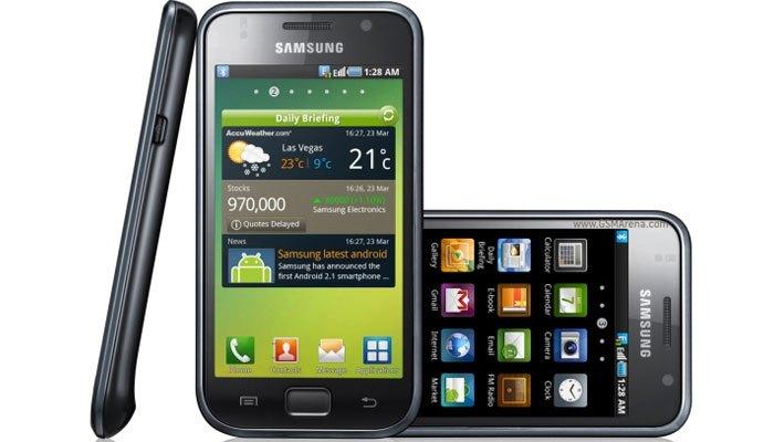 Thiết kế của thế hệ điện thoại Galaxy S đầu tiên
