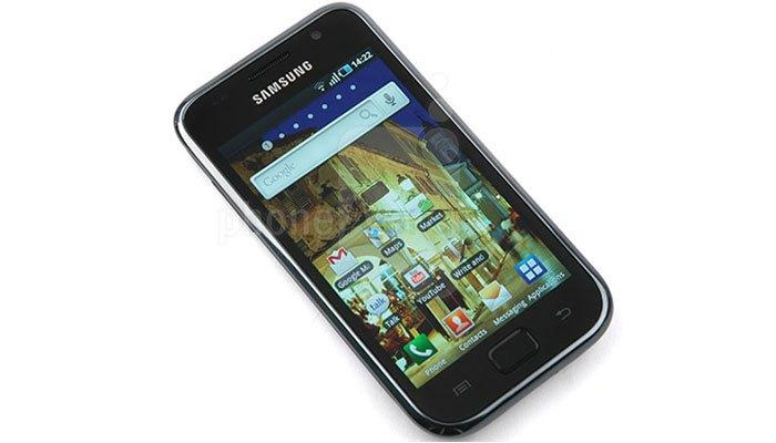 Màn hình 4 inch khiêm tốn của điện thoại Galaxy S1