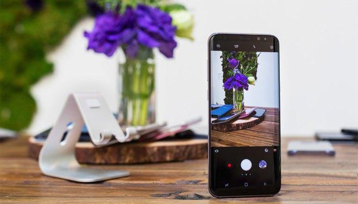 Điện thoại Galaxy S8 được đánh giá cao về khả năng chụp ảnh