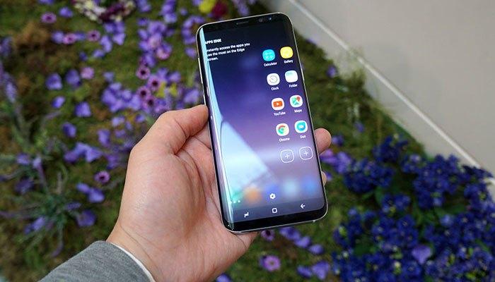 Camera trước đỉnh cao của điện thoại Galaxy S8 sẽ cho bạn chất lượng hình ảnh tuyệt hảo