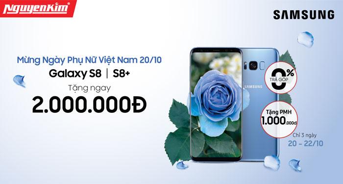 Cơ hội sở hữu Galaxy S8 và S8 Plus với mức giá ưu đãi sốc