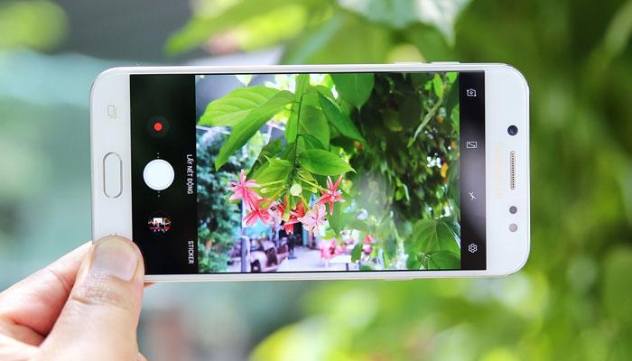 Hình ảnh được chụp bằng điện thoại Galaxy J7+ sắc nét, trung thực
