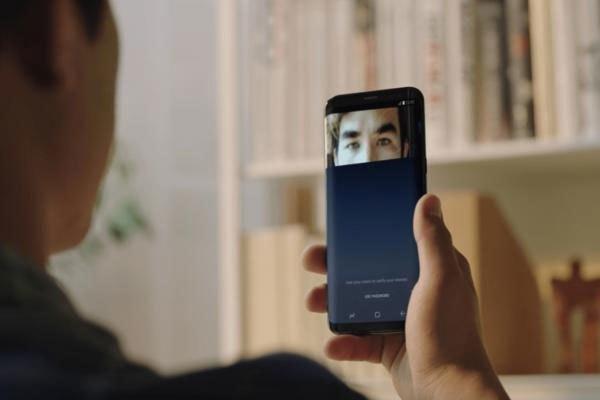 Điện thoại Galaxy S8 bảo mật tốt hơn với công nghệ quét mống mắt