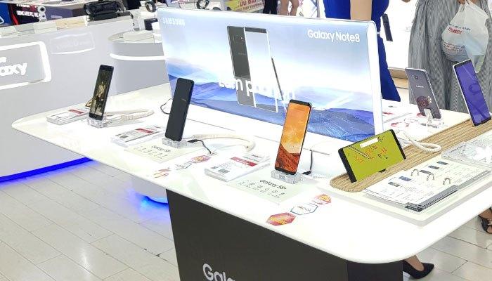 Galaxy Note 8 xuất hiện tại Nguyễn Kim