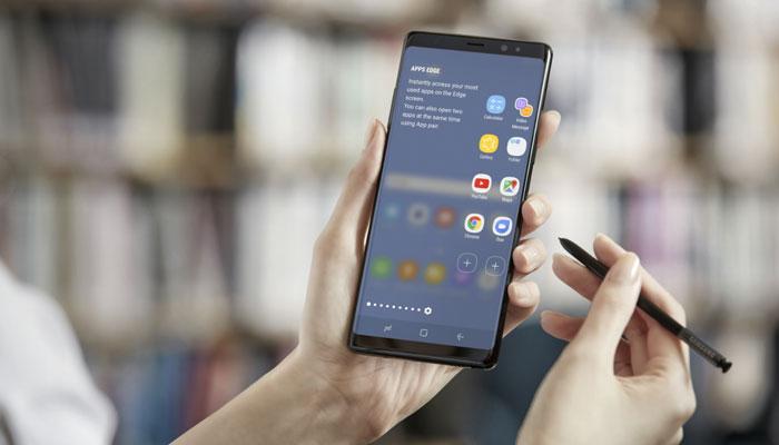 Cây bút ma thuật là điểm thu hút nổi bật trên Galaxy Note 8