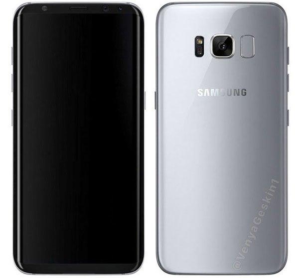 Cặp đôi điện thoại Samsung Galaxy S8 và S8 Plus có thể sẽ xuất hiện màu mới