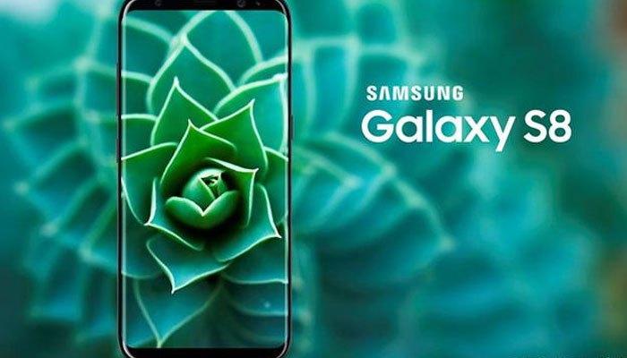 Ngoại hình điện thoại Galaxy S8 đột phá với màn hình vô cực
