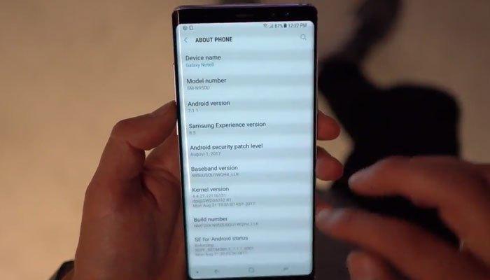 Galaxy Note 8 vẫn mang trên mình cấu hình mạnh mẽ
