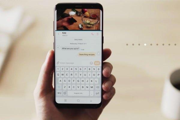 Hiệu suất làm việc của người dùng cũng được tăng cao nhờ màn hình đa nhiệm trên điện thoại Galaxy S8
