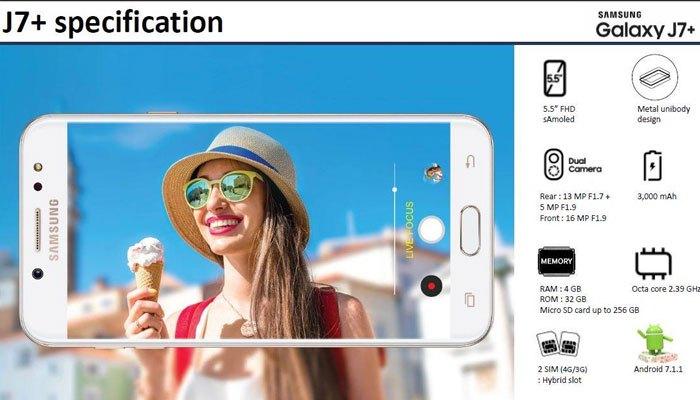 Cụm camera kép là tính năng được người dùng mong chờ nhất trên chiếc điện thoại Galaxy J7+