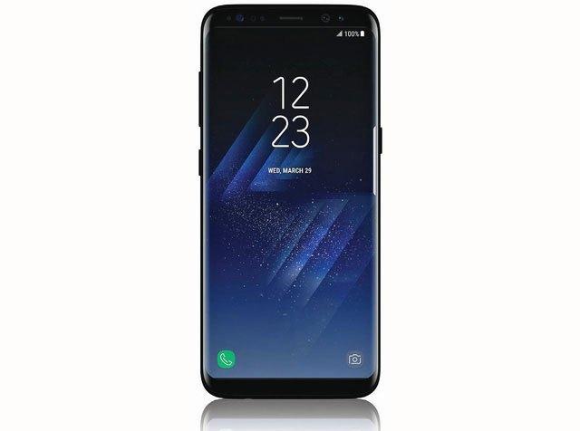 Thiết kế của điện thoại Galaxy S8