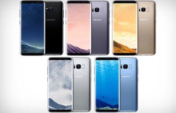 Lộ diện các bảng màu của điện thoại Galaxy S8/S8+ lần này