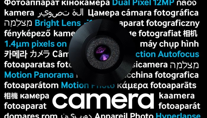 Camera là một trong những niềm tự hào của Samsung