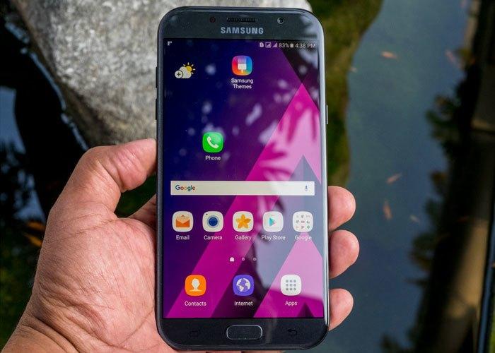 """Những dòng điện thoại của dòng A 2017 như chiếc Galaxy A7 2017 làm """"điên đảo"""" làng công nghệ"""