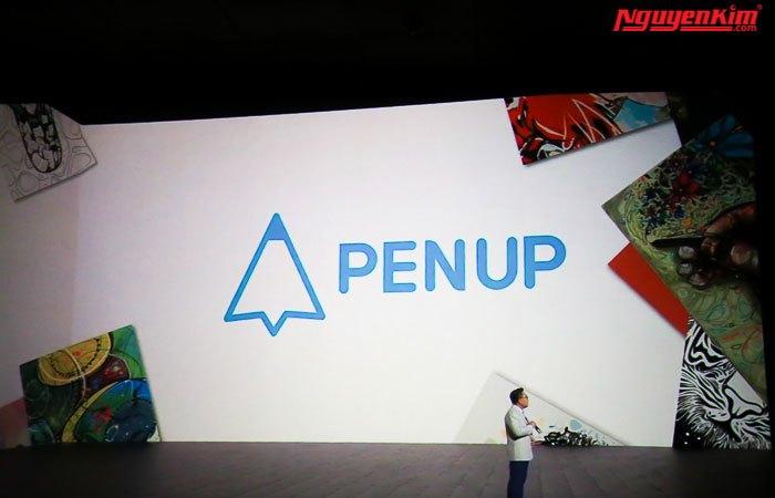 Bút S-Pen của điện thoại Galaxy Note 8 được nâng cấp