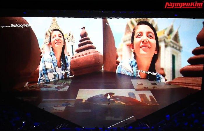 Camera kép của điện thoại Galaxy Note 8 độ phân giải 12MP