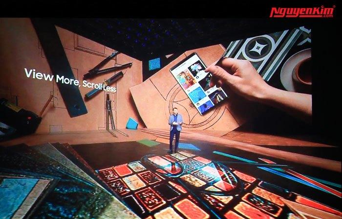Trải nghiệm thú vị hơn với điện thoại Galaxy Note 8.