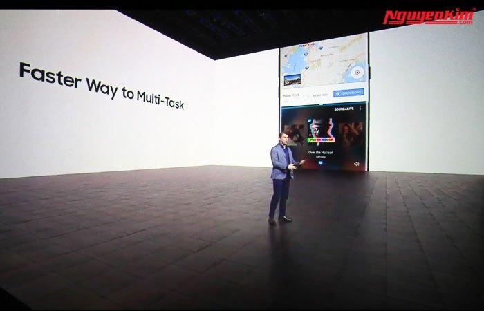 Đa cửa sổ cũng được trang bị trên điện thoại Galaxy Note 8