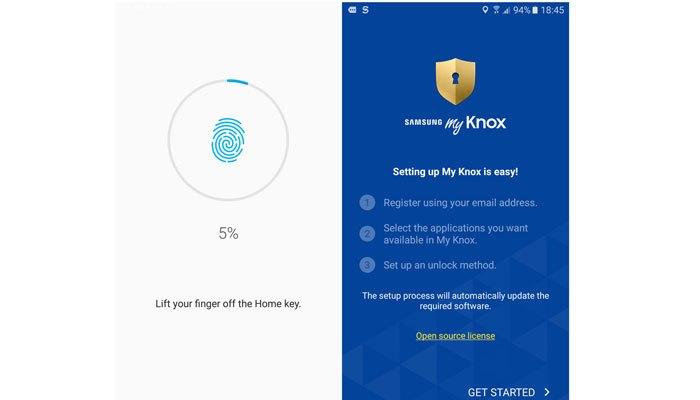 Samsung luôn chú trọng việc bảo mật thông tin cá nhân trên điện thoại