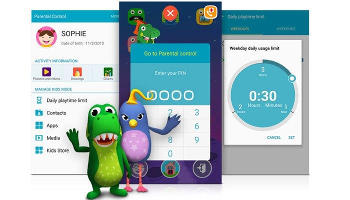 Bảo mật thông tin trên điện thoại Galaxy J7 Prime