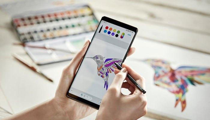 Galaxy Note 8 cho bạn đầy trải nghiệm với bút S Pen