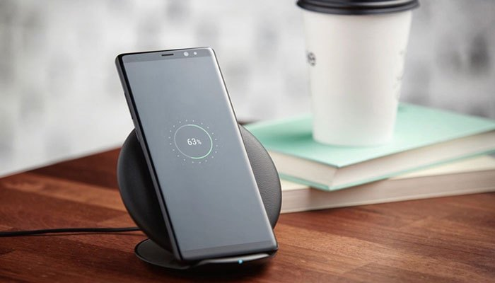 Galaxy Note 8 sạc không dây