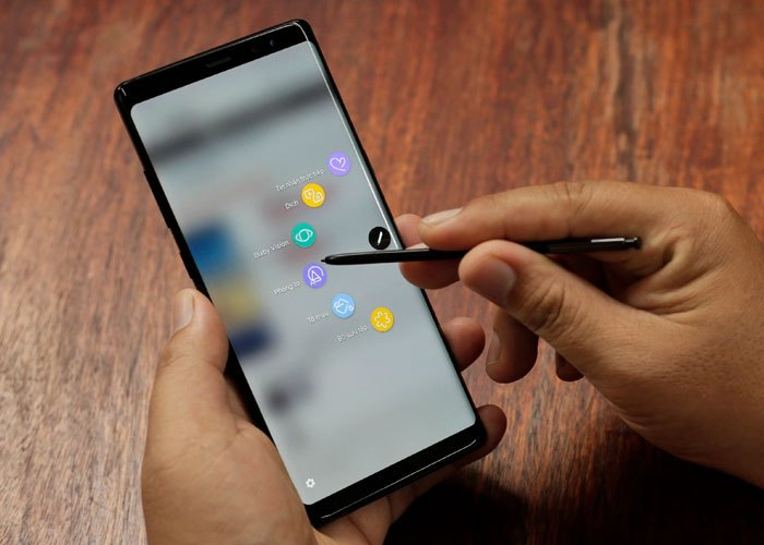 Tùy biếnAir Command theo sở thích, thói quen dễ dàng với bút S Pen của Galaxy Note 8