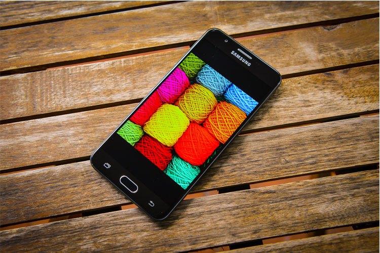 Cải tiến về thiết kế giúp J7 Prime trông sang trọng không kém các dòng smartphone cao cấp