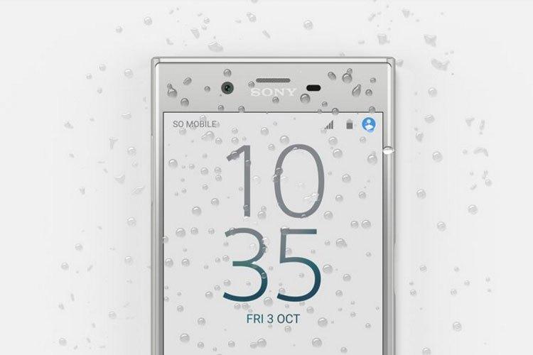 Điện thoại Sony Xperia XZ được thiết kế với khả năng kháng nước