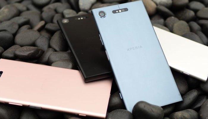 Thiết kế của điện thoại Sony Xperia XZ1
