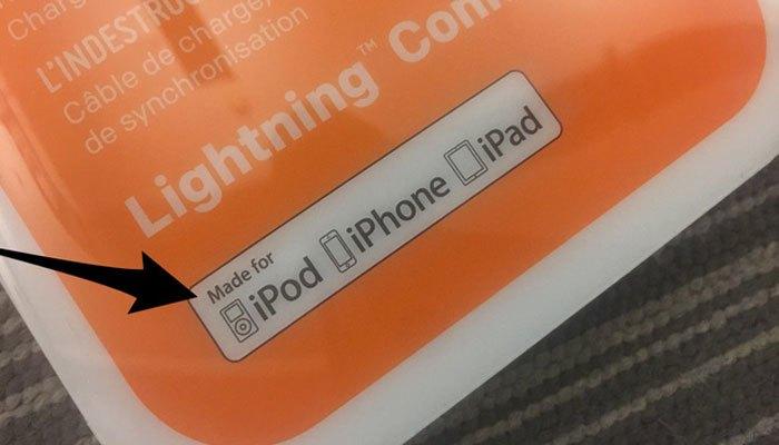 Phân biệt hàng giả bằng chứng chỉ MFi trên phụ kiện Apple