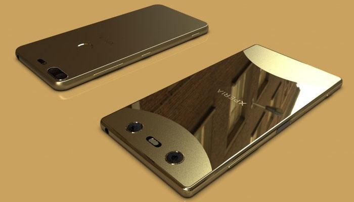 Smartphone năm 2018 của Sony sẽ có thiết kế đẹp không tưởng