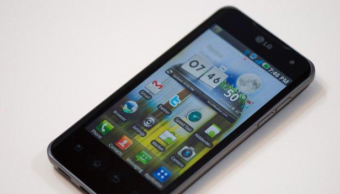 Điện thoại có chip hai nhân thuộc về thương hiệu LG