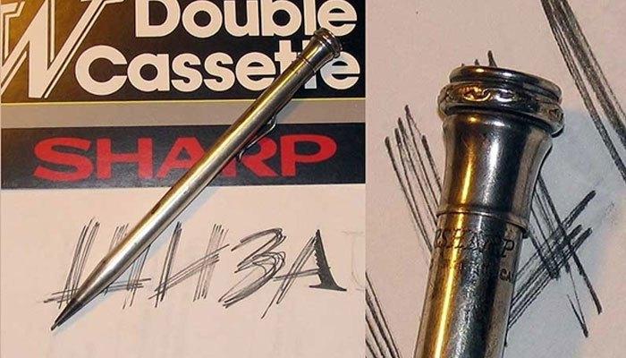 Bút chì bấm là sản phẩm khởi nghiệp của Sharp