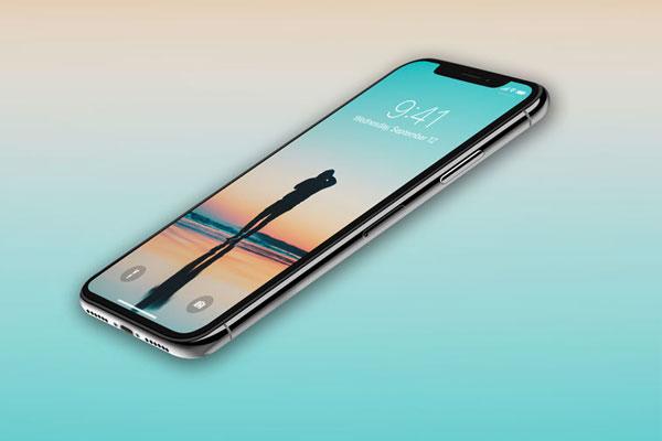 Màn hình điện thoại iPhone X sắc nét, tạo cảm giác dễ chịu khi nhìn